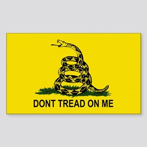Gadsden Flag-DONT TREAD ON ME Sticker (Rectangle)